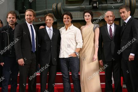 Billy Bob Thornton, Nicolas Cage, Jerry Bruckheimer, Tom Cruise, Gemma Arterton, Sir Ben Kingsley and Jake Gyllenhaal
