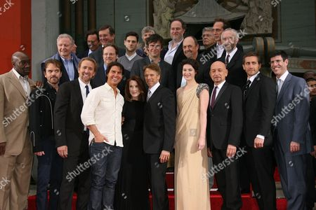 Editorial image of Jerry Bruckheimer Hand and Footprint Ceremony, Los Angeles, America - 17 May 2010