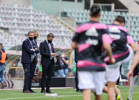 Manager of Juventus FC Fabio Paratici and Vice-President of Juventus FC Pavel Nedved