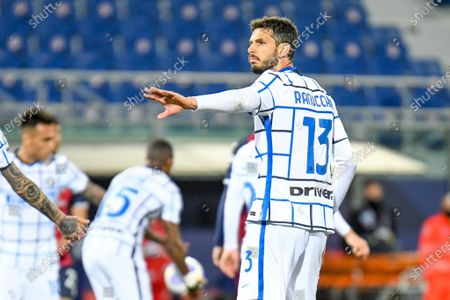 Stock Picture of Andrea Ranocchia (Inter - Internazionale) in action