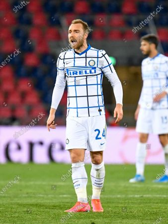 Christian Eriksen (Inter - Internazionale) reacts