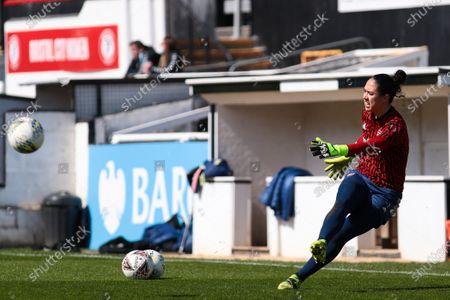 Manuela Zinsberger of Arsenal- Mandatory by-line: Will Cooper/JMP