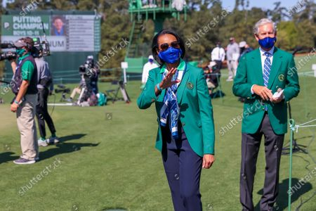 Editorial image of The 2021 Masters Tournament golf, Augusta, USA - 04 Apr 2021