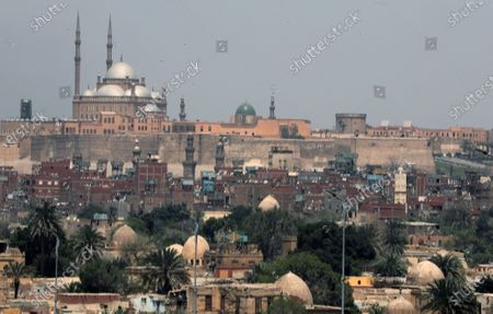 A general view of the Mosque of Muhammad Ali at Saladin Citadel fortification in Cairo, Egypt, 04 April 2021. The mosque was added to Saladin Citadel fortification by Muhammad Ali Pasha in the first half of the 19th century.