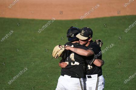 Editorial image of Western Carolina Wofford Baseball, Spartanburg, United States - 03 Apr 2021