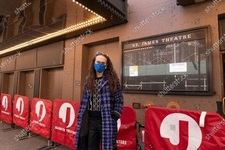 Editorial image of NY: First performance on Broadway stage, New York, United States - 03 Apr 2021
