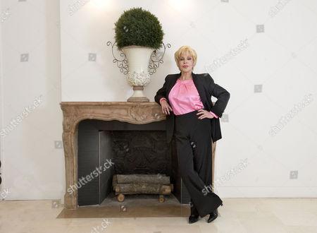 Stock Photo of Sylvia Wildenstein