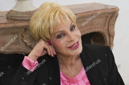 Editorial photo of Sylvia Wildenstein - 2010