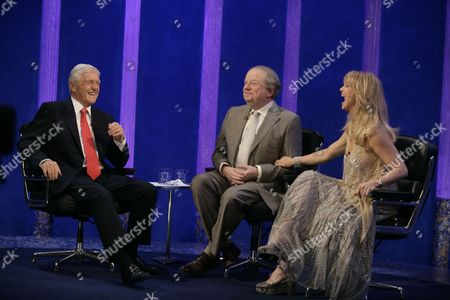 Michael Parkinson with John Sergeant and Goldie Hawn
