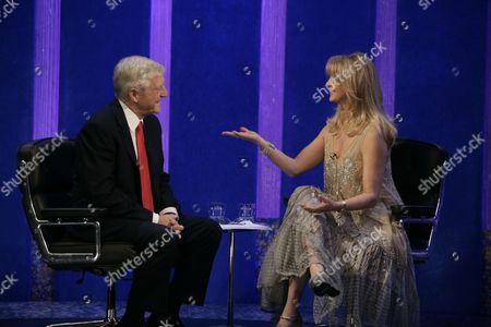 Michael Parkinson with Goldie Hawn.