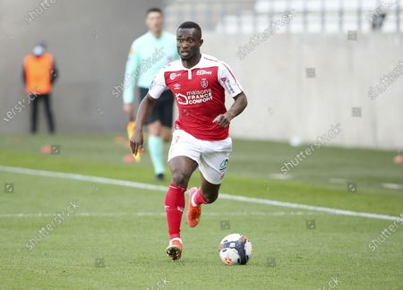 Stock Picture of Ghislain Konan of Reims