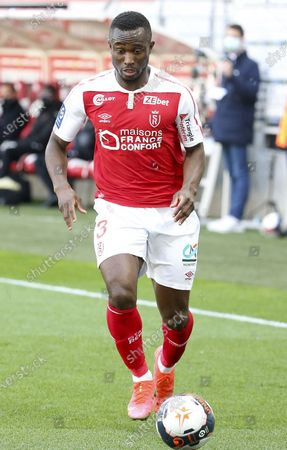 Stock Image of Ghislain Konan of Reims