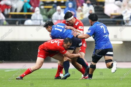Editorial photo of Japan Rugby Top League 2021: Kobelco Steelers 13-13 Panasonic Wild Knights, Kobe, Hyogo, Japan - 04 Apr 2021
