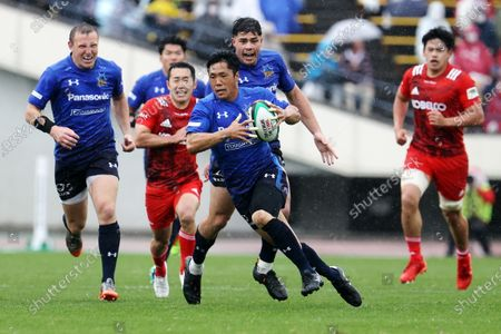 Takuya Yamasawa - Rugby : Japan Rugby Top League 2021 match between Kobelco Steelers 13-13 Panasonic Wild Knights at Kobe Universiade Memorial Stadium in Kobe, Japan.