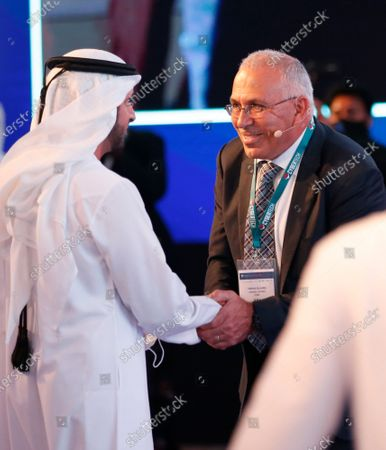 Editorial image of The 8th edition of Cybertech Global in Dubai, United Arab Emirates - 05 Apr 2021