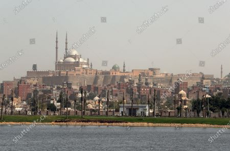 A general view of Mosque of Muhammad Ali at Saladin Citadel fortification in Cairo, Egypt, 05 April 2021. The mosque was commissioned by Muhammad Ali Pasha between 1830 and 1848 and was the largest to be built in the first half of the 19th century.