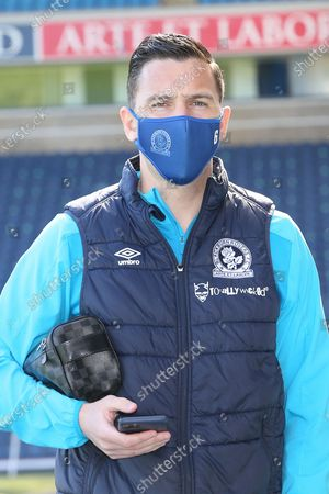 Blackburn Rovers midfielder Stewart Downing (6) arriving for the EFL Sky Bet Championship match between Blackburn Rovers and Bournemouth at Ewood Park, Blackburn