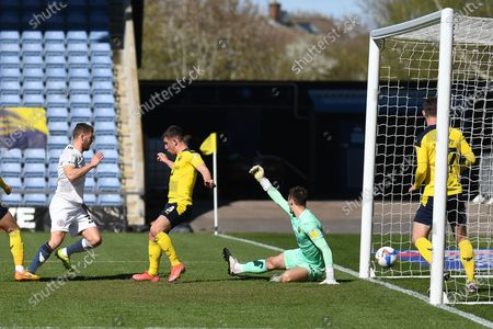 Editorial picture of Oxford United v Accrington Stanley, EFL Sky Bet League 1 - 05 Apr 2021