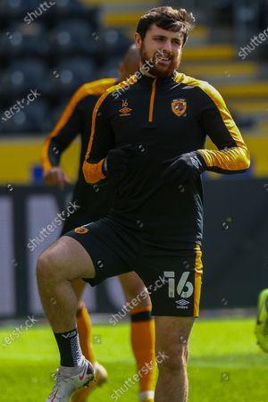 Stock Photo of Jordan Michael Flores during the EFL Sky Bet League 1 match between Hull City and Northampton Town at the KCOM Stadium, Kingston upon Hull