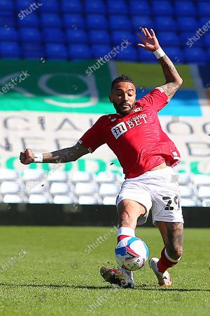 Bristol City defender Danny Simpson (29)  during the EFL Sky Bet Championship match between Coventry City and Bristol City at the Trillion Trophy Stadium, Birmingham