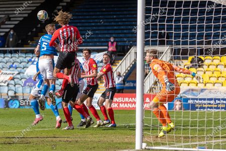 Editorial picture of Peterborough United v Sunderland, EFL Sky Bet League 1 - 05 Apr 2021