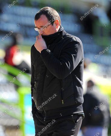 Salford City manager Gary Bowyer- Mandatory by-line: Nizaam Jones/JMP
