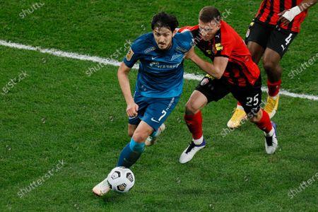 Editorial picture of Zenit St. Petersburg v Khimki - Russian Premier League, Saint Petersburg - 05 Apr 2021