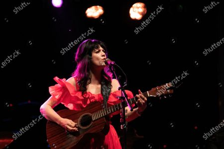 Nikki Lane performs during the Long Live Music socially distanced concert event hosted by Luck Reunion and The Long Center