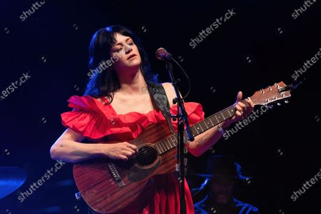 Stock Image of Nikki Lane performs during the Long Live Music socially distanced concert event hosted by Luck Reunion and The Long Center