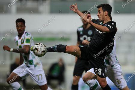 Editorial photo of FC Moreirense vs Sporting CP, Guimaraes, Portugal - 05 Apr 2021
