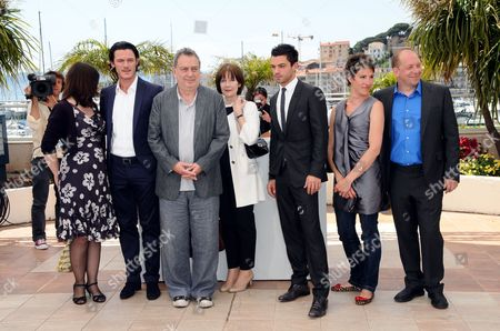 Moira Buffini, guest, Posy Simmonds, Director Stephen Frears, Dominic Cooper, Tamsin Greig, Bill Camp and Luke Evans