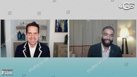 Stock Image of Dave Karger (Moderator), Kingsley Ben-Adir (One Night in Miami)