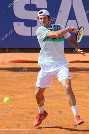 Tommy Paul during the ATP Tour 250 Sardegna Open tennis match in Cagliari, Italy on April 05, 2021.