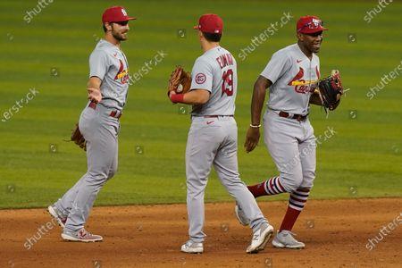 Editorial photo of Cardinals Marlins Baseball, Miami, United States - 05 Apr 2021