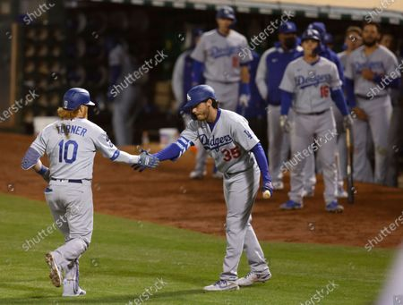 Editorial photo of Los Angeles Dodgers at Oakland Athletics, USA - 05 Apr 2021