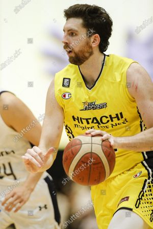 Ryan Kelly (Sunrockers) - Basketball : 2020-21 B.LEAGUE B1 game between Sunrockers Shibuya 87-101 Ryukyu Golden Kings at Aoyama Gakuin Memorial Gymnasium, Tokyo, Japan.