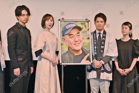 "Editorial image of ""Otsunahiki no Koi"" stage greeting in Tokyo, Tokyo, Japan - 30 Mar 2021"