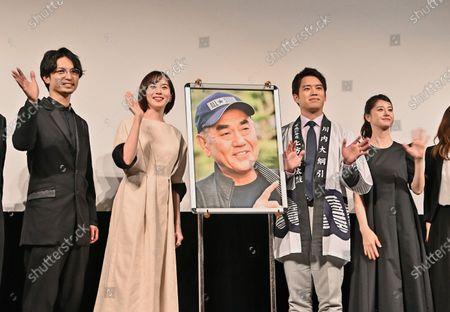"Editorial photo of ""Otsunahiki no Koi"" stage greeting in Tokyo, Tokyo, Japan - 30 Mar 2021"