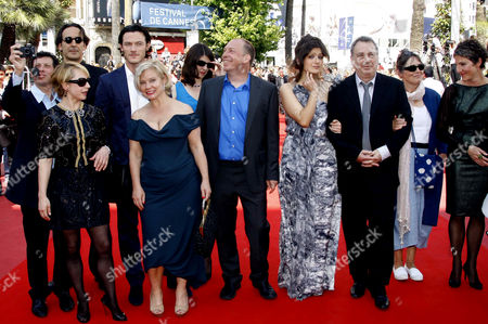 Moira Buffini, Bill Camp, Stephen Frears, Posy Simmonds, Tamsin Greig, Dominic Cooper and Luke Evans