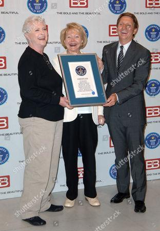 Susan Flannery, Lee Phillip Bell & Bradley Bell