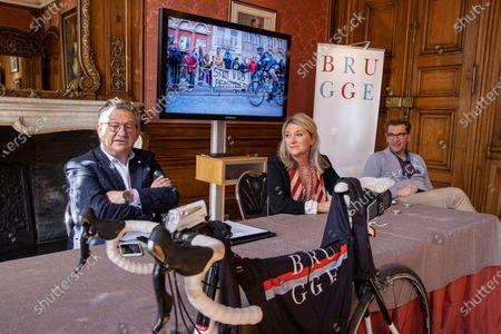 Editorial image of Cycling Brugge Ronde Van Vlaanderen Pc, Brugge, Belgium - 06 Apr 2021