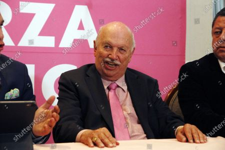 Editorial photo of Nesimo Cepeda, Announces Candidacy For State Of Mexico Congress, Mexico City - 05 Apr 2021