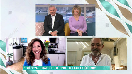 Stock Photo of Eamonn Holmes, Ruth Langsford, Gaynor Faye, Neil Morrissey