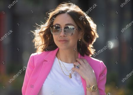 Editorial photo of Myleene Klass arrives at Global Radio, Leicester Square, London, UK - 06 Apr 2021