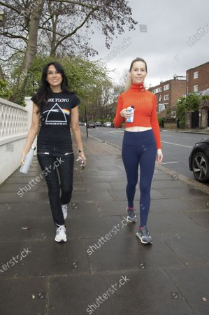 Stock Photo of Leila Russack and Jackie St Clair