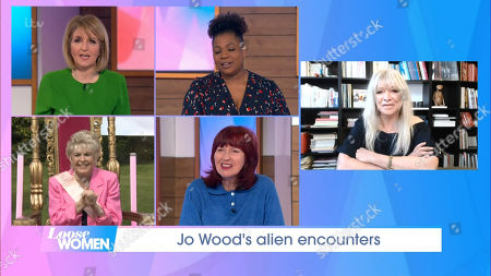 Kaye Adams, Brenda Edwards, Gloria Hunniford, Janet Street-Porter, Jo Wood