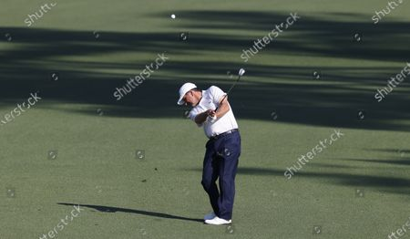 Jose Maria Olazabal of Spain on the second fairway during a practice round for the 2021 Masters Tournament at the Augusta National Golf Club in Augusta, Georgia, USA, 06 April 2021. The 2021 Masters Tournament is held 08 April through 11 April 2021.