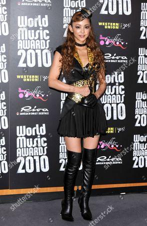 Editorial image of 2010 World Music Awards, Monte Carlo, Monaco - 18 May 2010