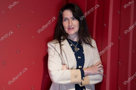 Spanish film director Angeles Gonzalez-Sinde Reig poses during the portrait session in Madrid, Spain on April 6, 2021.