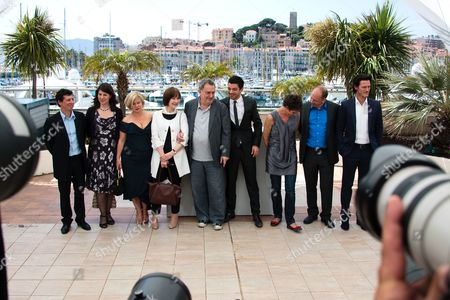 Paul Trijbits, Christine Langan, Alison Owen, Posy Simmonds, Stephen Frears, Dominic Cooper, Tamsin Greig, Bill Camp, Luke Evans
